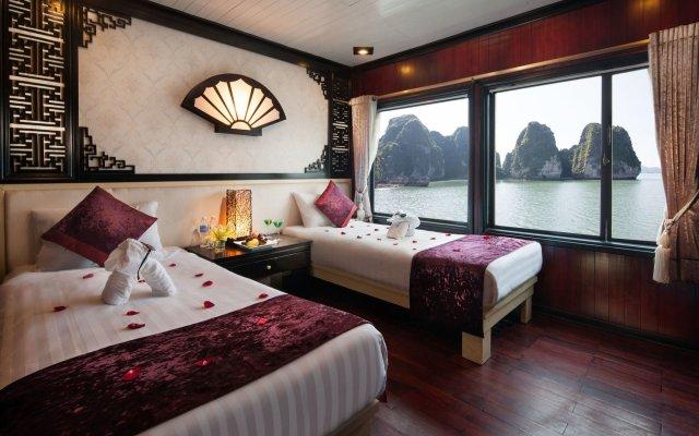 Отель Halong Aclass Legend Cruise комната для гостей