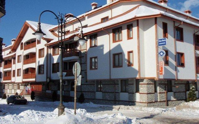 Отель Pirin River Ski & Spa Болгария, Банско - отзывы, цены и фото номеров - забронировать отель Pirin River Ski & Spa онлайн вид на фасад