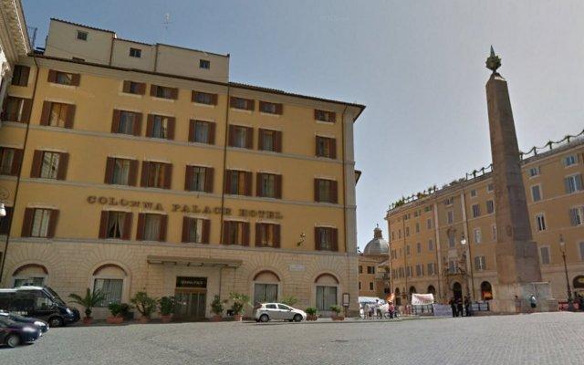 Отель Colonna Palace Hotel Италия, Рим - 2 отзыва об отеле, цены и фото номеров - забронировать отель Colonna Palace Hotel онлайн вид на фасад