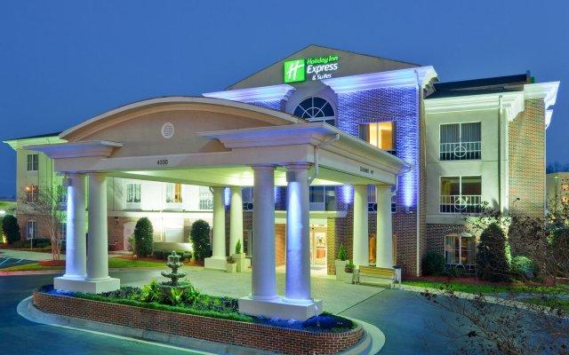Отель Holiday Inn Express Vicksburg вид на фасад