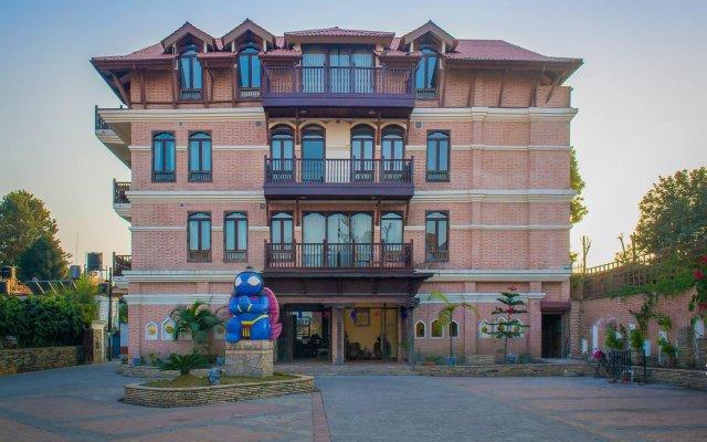 Отель Tangalwood Boutique Hotel Непал, Катманду - отзывы, цены и фото номеров - забронировать отель Tangalwood Boutique Hotel онлайн вид на фасад