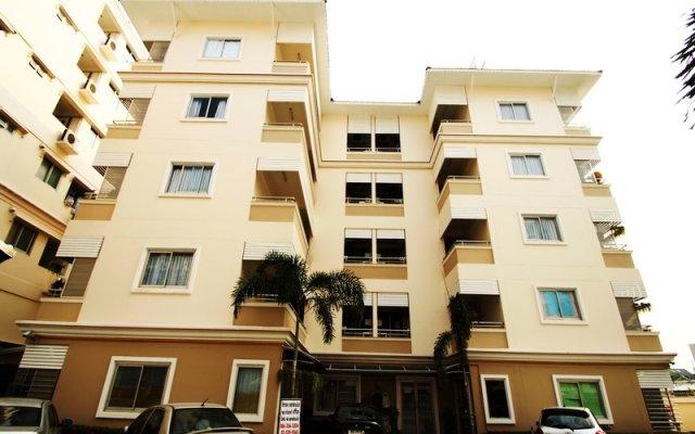 Отель Golden Apartment Таиланд, Бангкок - отзывы, цены и фото номеров - забронировать отель Golden Apartment онлайн вид на фасад