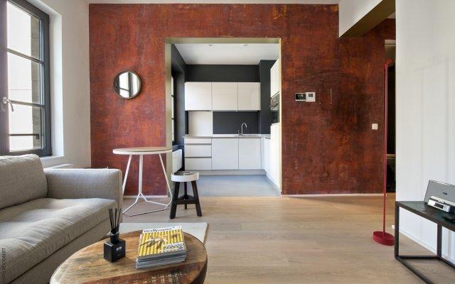 Отель Smartflats Premium Palace du Grand Sablon Брюссель комната для гостей
