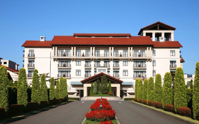 Отель Grand XIV Nasu Shirakawa The Lodge Япония, Насусиобара - отзывы, цены и фото номеров - забронировать отель Grand XIV Nasu Shirakawa The Lodge онлайн вид на фасад