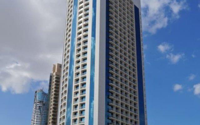 Отель Piks Key - Burj Al Nujoom Дубай вид на фасад