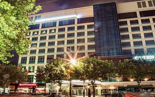 Отель Queen Vell Hotel Южная Корея, Тэгу - отзывы, цены и фото номеров - забронировать отель Queen Vell Hotel онлайн вид на фасад