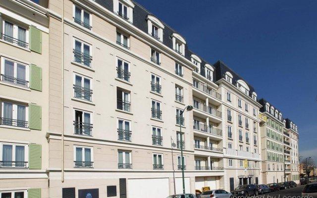 Отель Appart'City Paris Saint-Maurice вид на фасад