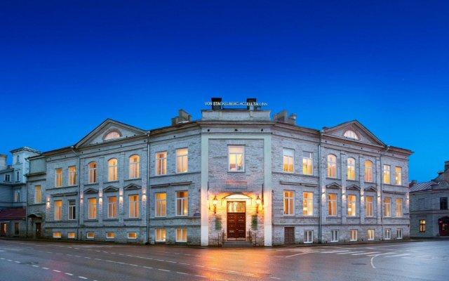 The von Stackelberg Hotel Таллин вид на фасад