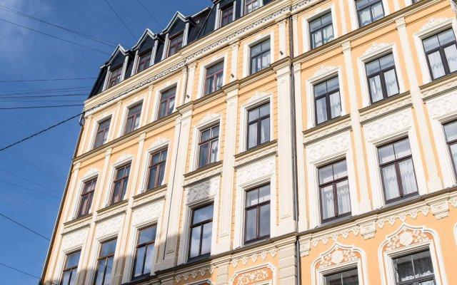 Отель Mosaic Center Apartments Латвия, Рига - отзывы, цены и фото номеров - забронировать отель Mosaic Center Apartments онлайн вид на фасад