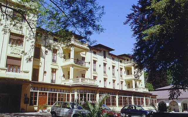 Gran Hotel Balneario de Liérganes вид на фасад