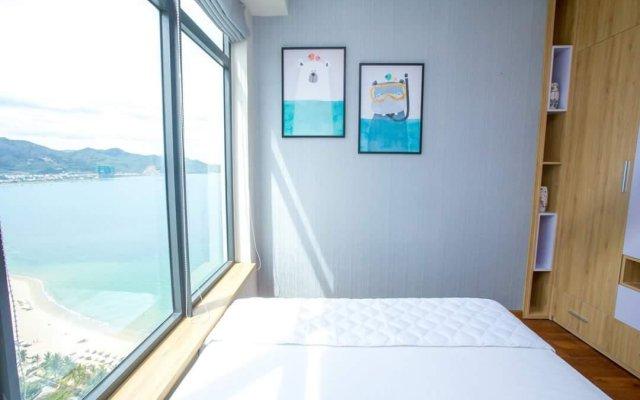 Апартаменты Beach City Apartment Нячанг комната для гостей