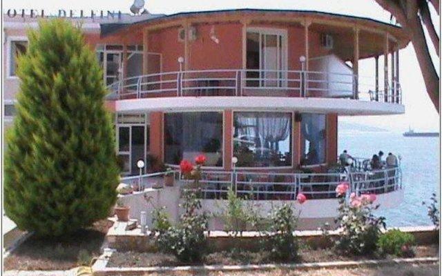 Отель Delfini Албания, Саранда - отзывы, цены и фото номеров - забронировать отель Delfini онлайн вид на фасад