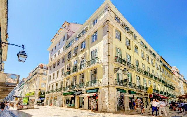 Hotel LX Rossio вид на фасад