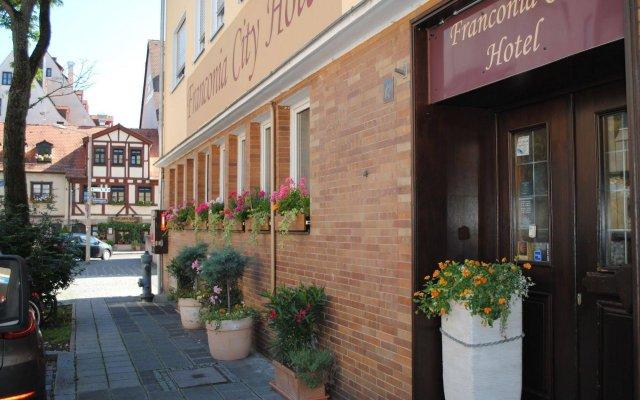 Отель Franconia City Hotel Германия, Нюрнберг - отзывы, цены и фото номеров - забронировать отель Franconia City Hotel онлайн вид на фасад