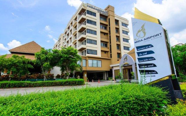 Отель Mida Airport Бангкок вид на фасад