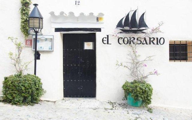 Отель El Corsario вид на фасад