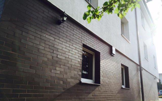 Отель Justhostel Гданьск вид на фасад
