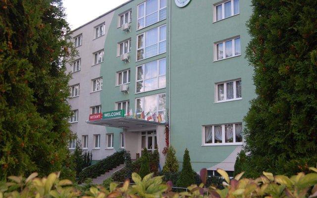 Hotel Gromada Poznań вид на фасад