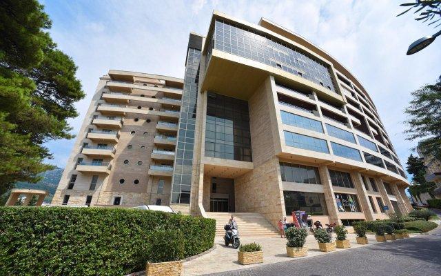 Отель Harmonia Черногория, Будва - отзывы, цены и фото номеров - забронировать отель Harmonia онлайн вид на фасад