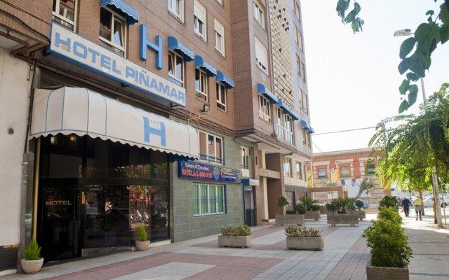 Отель Piñamar вид на фасад