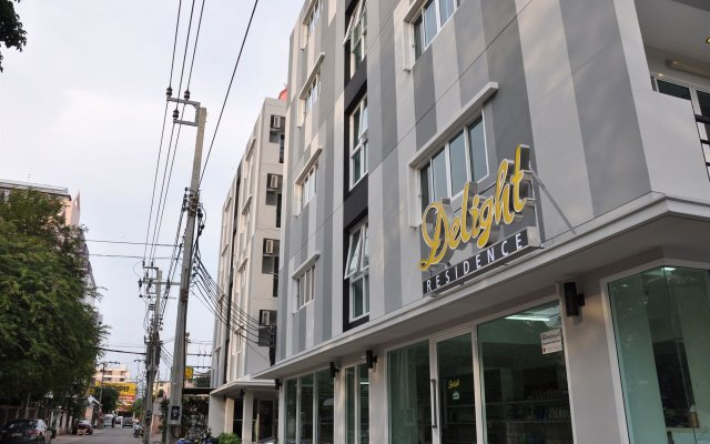 Отель Delight Residence Бангкок вид на фасад