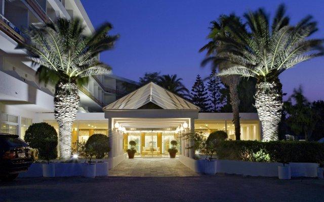Отель Eden Roc Resort Hotel - All Inclusive Греция, Родос - отзывы, цены и фото номеров - забронировать отель Eden Roc Resort Hotel - All Inclusive онлайн вид на фасад