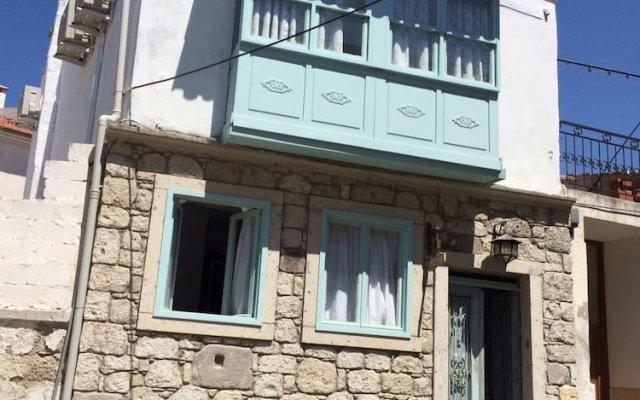 Отель Sayeban Pansiyon Чешме вид на фасад