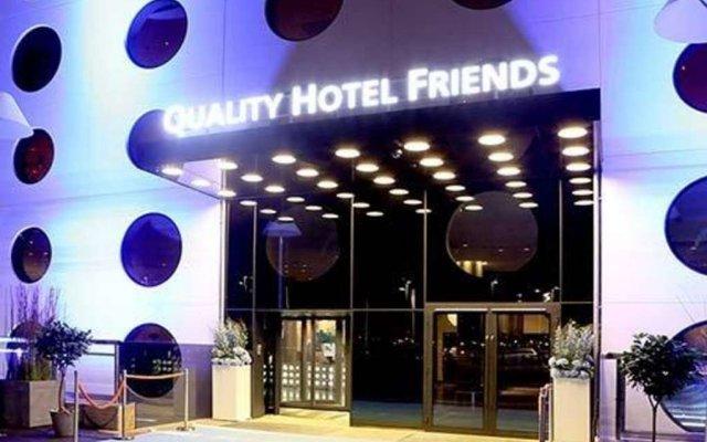 Отель Quality Friends Солна вид на фасад