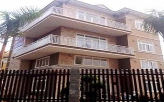 Апартаменты River Park Serviced Apartment вид на фасад