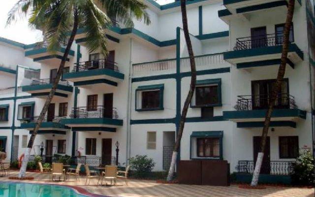 Hotel Dona Terezinha вид на фасад