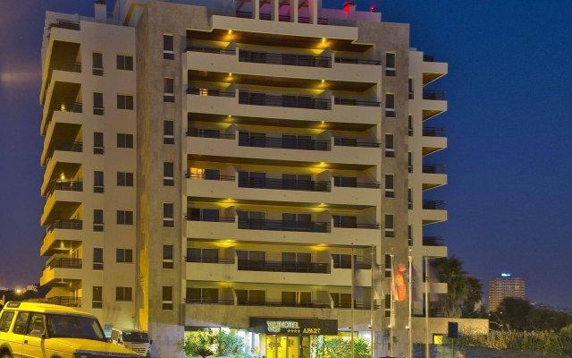 Отель Interpass Vau Hotel Apartamentos Португалия, Портимао - отзывы, цены и фото номеров - забронировать отель Interpass Vau Hotel Apartamentos онлайн вид на фасад