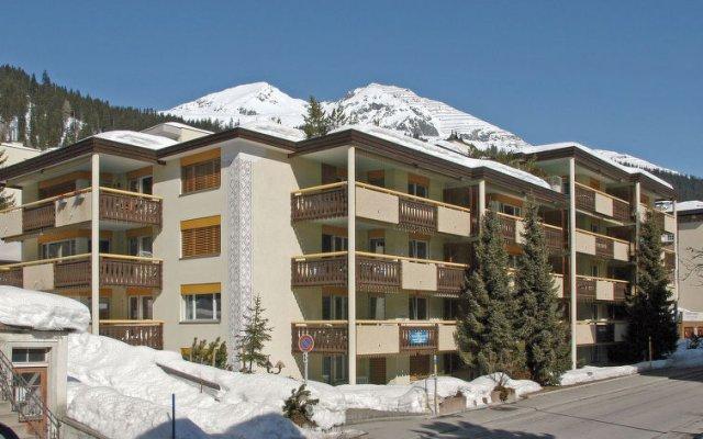 Отель Albl Швейцария, Давос - отзывы, цены и фото номеров - забронировать отель Albl онлайн вид на фасад