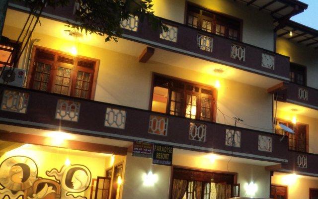 Отель Kandy Paradise Resort вид на фасад