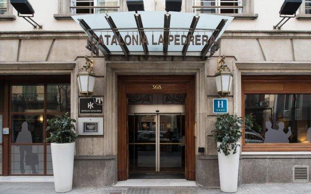 Отель Catalonia La Pedrera вид на фасад