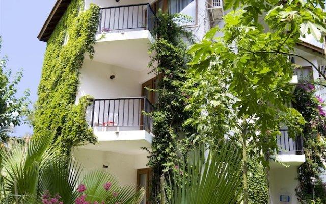Отель Larissa Akman Çamyuva - All Inclusive вид на фасад