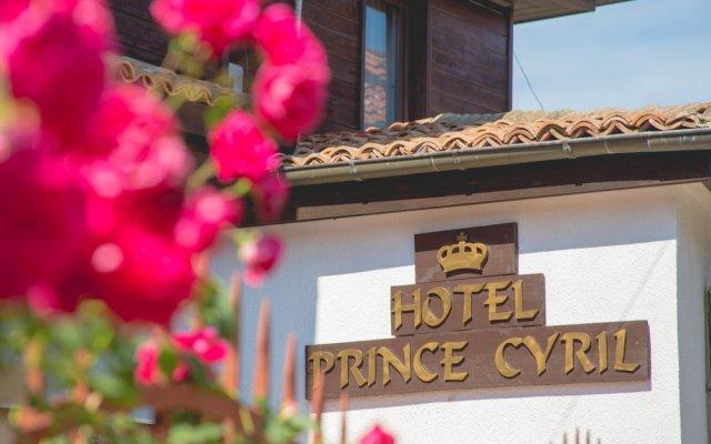 Hotel Prince Cyril Несебр вид на фасад