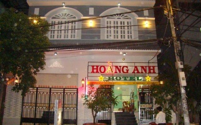Hoang Anh Hotel Хошимин вид на фасад