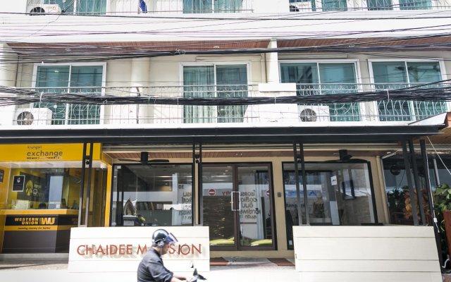 Отель Chaidee Mansion Бангкок вид на фасад