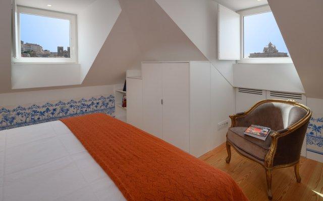 Отель Aurea Once Upon A House Лиссабон комната для гостей