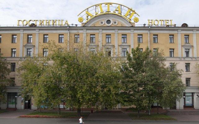 Гостиница Алтай в Москве - забронировать гостиницу Алтай, цены и фото номеров Москва вид на фасад