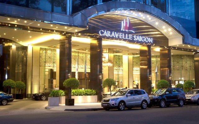 Отель Caravelle Saigon вид на фасад