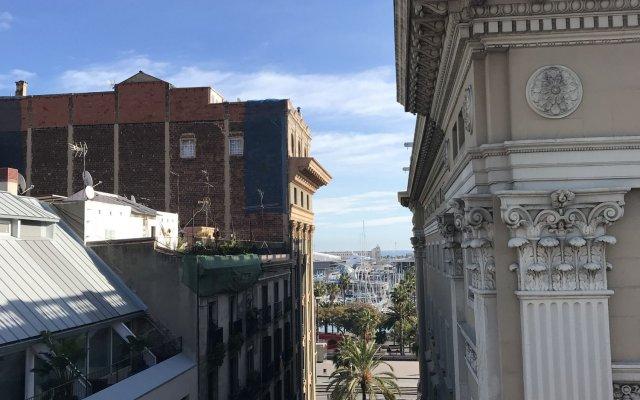 Отель Hostal Nilo Барселона вид на фасад