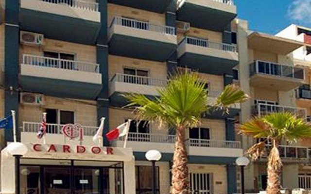 Отель Cardor Holiday Complex Сан-Пауль-иль-Бахар вид на фасад