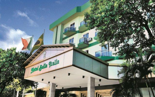 Bella Italia Hotel & Eventos вид на фасад