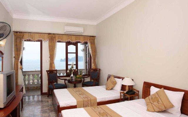 Отель Hoa Binh Ha Long Hotel Вьетнам, Халонг - отзывы, цены и фото номеров - забронировать отель Hoa Binh Ha Long Hotel онлайн комната для гостей