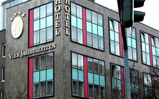 Hotel Vier Jahreszeiten Berlin City вид на фасад