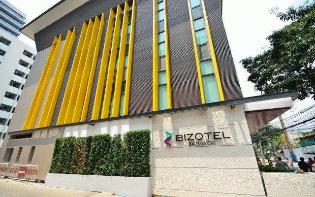 Отель Bizotel Bangkok Бангкок вид на фасад
