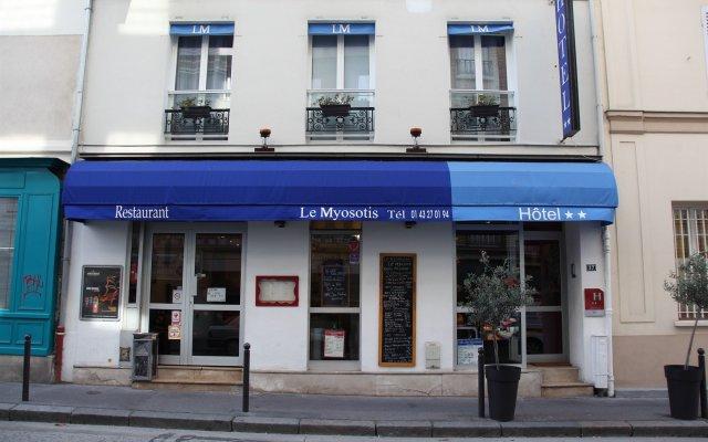 Отель Le Myosotis Франция, Париж - отзывы, цены и фото номеров - забронировать отель Le Myosotis онлайн вид на фасад