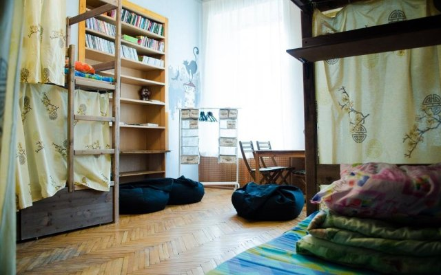 Отель Kot MatroskINN na Maloy Morskoy Санкт-Петербург комната для гостей