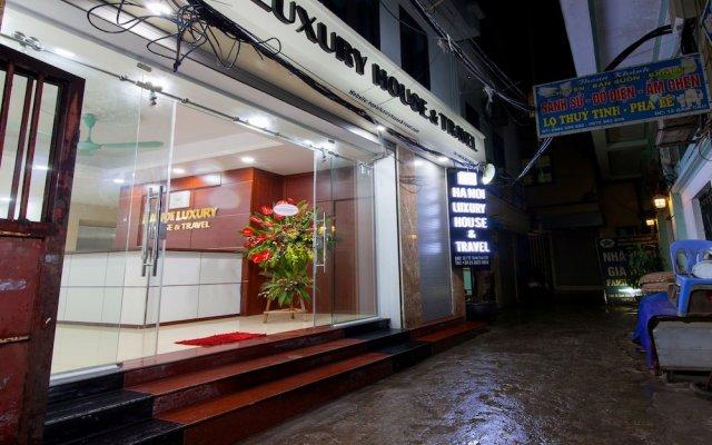 Отель Hanoi Luxury House & Travel Вьетнам, Ханой - отзывы, цены и фото номеров - забронировать отель Hanoi Luxury House & Travel онлайн вид на фасад